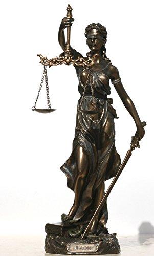 Diosa Justicia Themis Lady Justica Estatua Escultura