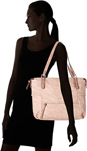 Tom Tailor - Kendall, Borse Tote Donna Rosso (Rose)