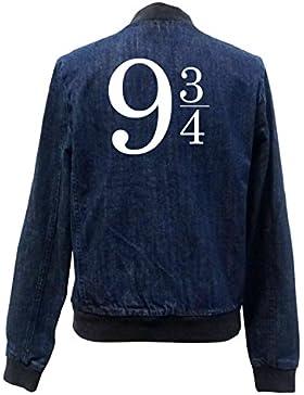 9 3/4 Bomber Chaqueta Girls Jeans Certified Freak