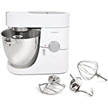 Kenwood KMM 065 1500W 6.7L White food processor - food processors (6.7 L, White, Rotary, Stainless steel, 1500 W, 238 mm)
