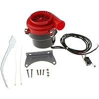 MagiDeal BOV Válvula de Claxon de Sonido Electrónico Turbo con Interruptor Pieza de Seguridad para Coche