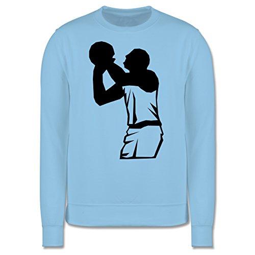 Basketball - Basketball - Herren Premium Pullover Hellblau
