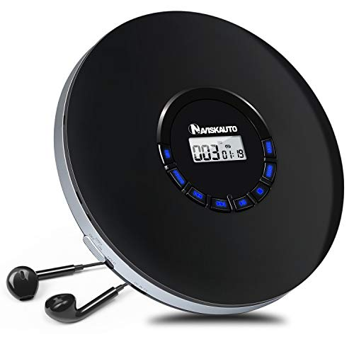 NAVISKAUTO Tragbarer CD Player D...
