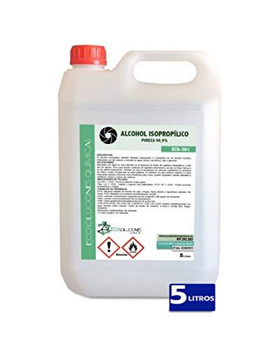 MULTITUD DE APLICACIONES           Desinfectante. En una proporción del 75% se emplea para la desinfección de las manos. Elimina fácilmente restos de aceite y grasa.     Limpieza de placas madre (motherboards) Altamente recomendado para la l...