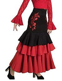 Anuka Falda de Mujer para Danza Flamenco o sevillanas