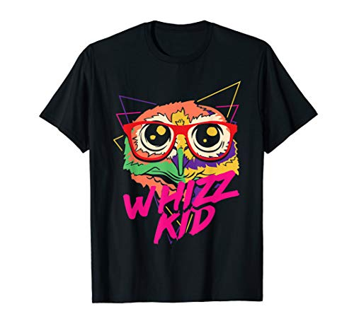 Funky Eule mit Brille/Brille T-Shirt