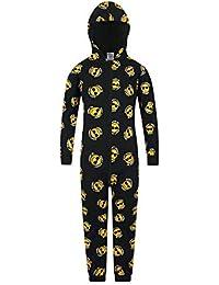 The PyjamaFactory Pijama de algodón con Cara Sonriente para niños