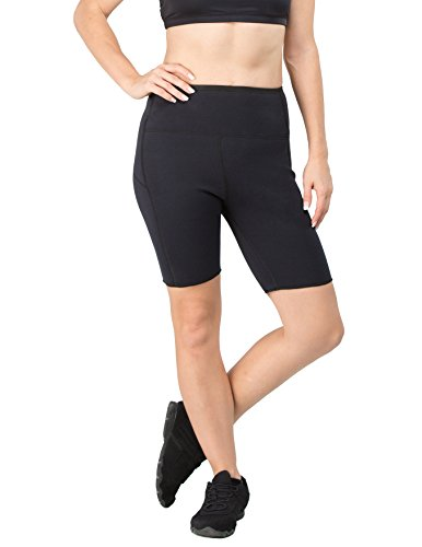 Delfin Spa Damen Neopren Shorts Schwitzhose, New Black, Gr. S, DS04-02
