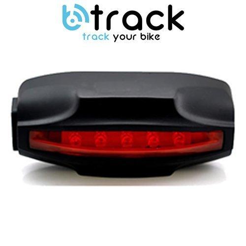 BTrack Safe Light - Antifurto localizzatore GPS per Biciclette