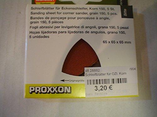Proxxon Schleifblätter für OZI Korn 150 5 Stück