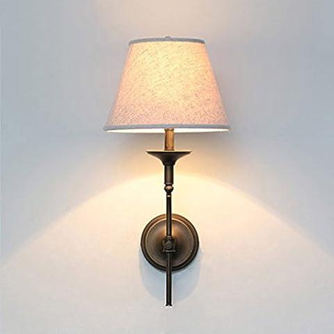 Lying Land Schlafzimmer Bettdecke Tuch Wandlampe Kreatives Interieur Wohnzimmer Aisle Treppen Designer-Beleuchtung finden ( Farbe : Weiß )