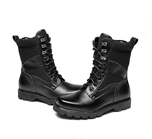 WZG forze speciali stivali di combattimento I nuovi uomini stivali esterno maschio stivali invernali Martin high-top stivali desert boots maschio , black , 41