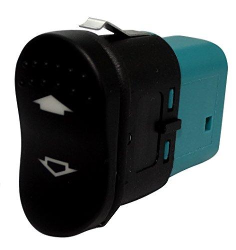 Aerzetix: Interrupteur bouton lève-vitres compatible 98AG14529CB pour auto voiture C18716