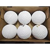 Star Sports king Riyaan Hockey Ball for Practice (White) -Pack of 6