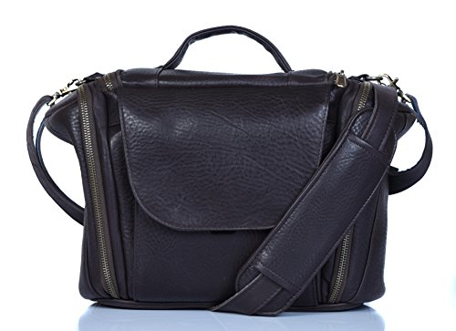 Genuine Leather Bag for Sony Alpha SLT-A58Y 20.1 MP DSLR Camera (#MX Cherry)  available at amazon for Rs.2999
