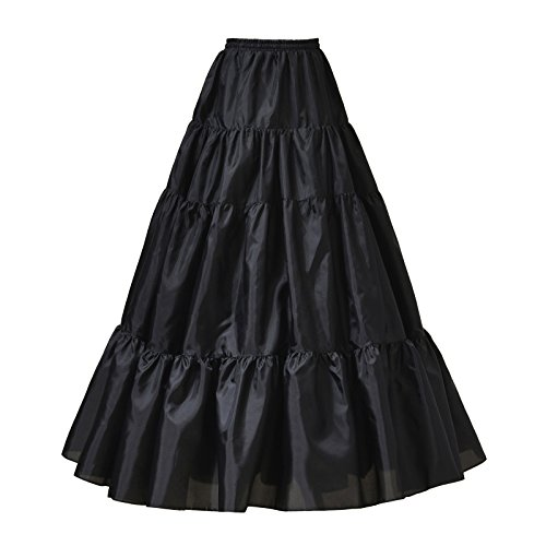 AWEI A Line Petticoat Skirt Floor Length Bridal Petticoat for sale  Delivered anywhere in UK