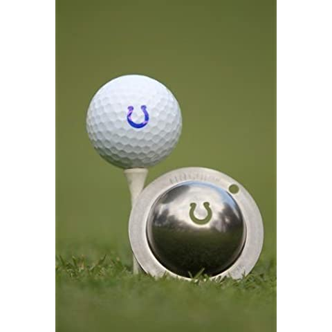 TIN CUP. GOLF BALL MARKING SYSTEM. RINGER. HORSESHOE. by Tin Cup