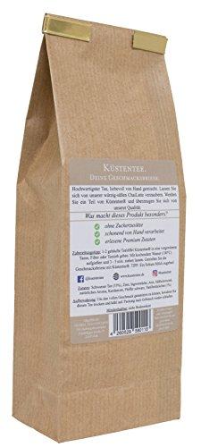 Küstentee® – Chailatte, Originale traditionell süß – würzige Masala Chai Gewürzmischung, mit Vanillestückchen verfeinert, ohne Zuckerzusätze und künstliche Geschmacksverstärker