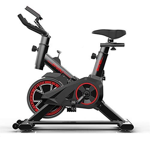 Sumferkyh Indoor-Radfahren Mute Fitness Bicycle Advanced mit Trainingscomputer und Ellipsentrainer Kalorien -