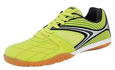 Donic Men's Daytona -Lime Green-Table Tennis Shoes 9.5 UK