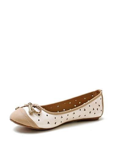 Trendy Too, Ballerine donna Bianco bianco 16, Bianco (bianco), 16