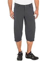 VAUDE Men 's Teppanyaki 3/4pantalones, primavera/verano, hombre, color gris, tamaño L