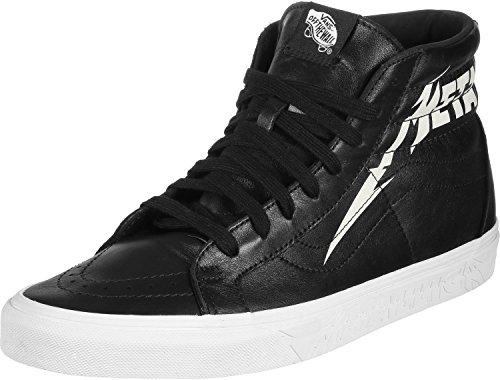 Preisvergleich Produktbild Vans Sk8-Hi Reissue x Metallica Schuhe Black / White