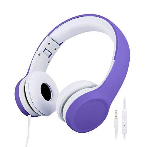 misognare, Kinder-Kopfhörer, mit Lautstärkebegrenzung violett
