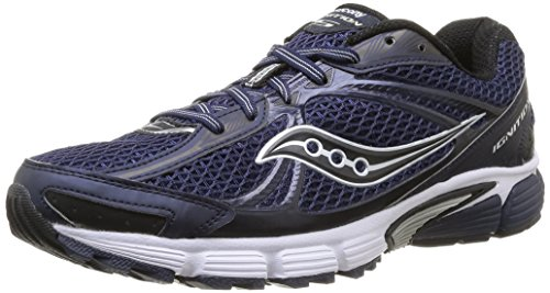 Saucony Ignition 5, Scarpe Sportive, Uomo, Multicolore (Navy/Black), 44