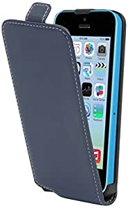 Muvit Winner Etui slim pour iPhone 5C Bleu Marine