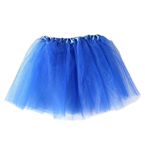 Vovotrade 2016 Mädchen-Prinzessin Pettiskirt Partei Ballettröckchen -Rock-Minikleid (Blau)