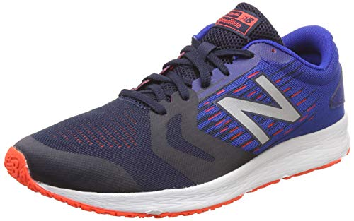 New Balance Flash v3, Scarpe da Corsa Uomo, Blu Blue/Orange, 42 EU