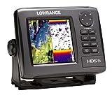 Lowrance HDS-5 Gen2 GPS Echolot Fishfinder mit 83/200 Geber