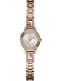 Guess Damen-Armbanduhr Analog Quarz Edelstahl