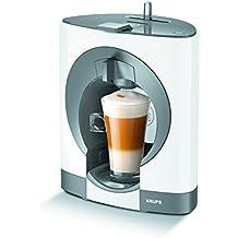 Krups KP1101 Independiente Máquina de café en cápsulas 0.6L Color blanco - Cafetera (Independiente, Máquina de café en cápsulas, Color blanco, 0,6 L, Cápsula de café, Nescafe Dolce