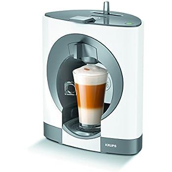 Krups infinissima cafetera café Nescafé Dolce Gusto, color blanco ...
