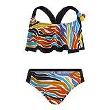 Tuc Tuc Bikini Estampado Niña Good Vibes Set Bambina, Arancione (Naranja 10) 8 anni (Taglia Produttore: 8A)