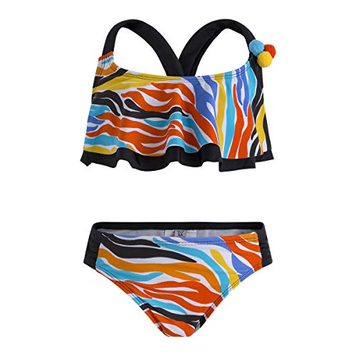 Tuc Tuc Bikini Estampado NIÑA Good Vibes Naranja