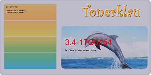 kompatibel Toner 3.4-17G0154 für: Lexmark Optra M410 als Ersatz für Lexmark 17G0154