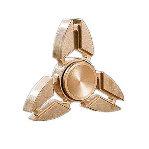 Missley Fidget Spinner Hoher Geschwindigkeit Handspielzeug Hand Spinner Special Finger Spinner Dekomprimierung Stress und Angst Relief (Gold-29)