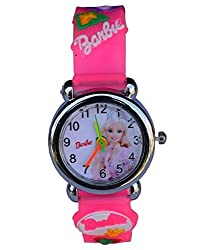 Generic Barbie kids watch Pale Pink MD