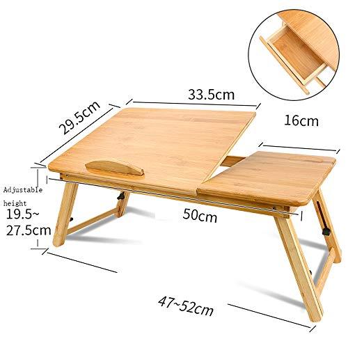 44d14ae2cce70 Table Pliante YH Lit De Petit Créatif Pliant Petit Bureau Ordinateur  Portable Ajustement De Bureau Multifonctionnel