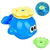 LegendTech Babyspielzeug - Badespielzeug - Netter Wal - Bunter Bade und Lernspaß für Badewanne, Pool und Schwimmbad - Gigantischer Wasser-Spaß auch in der Badewanne(1PCS)
