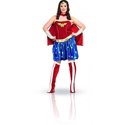 Wonder Woman-Kostüm für Damen Große Größe XXL