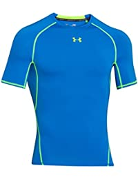 Under Armour Herren Heatgear Fitness-Funktionsshirts, Schwarz