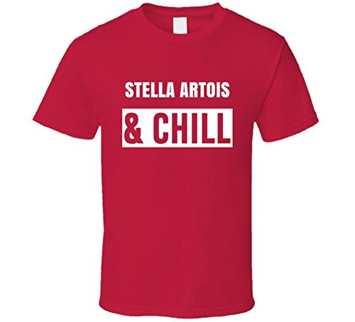 best-of-tees-stella-artois-and-chill-funny-trending-netflix-parody-gift-t-shirt