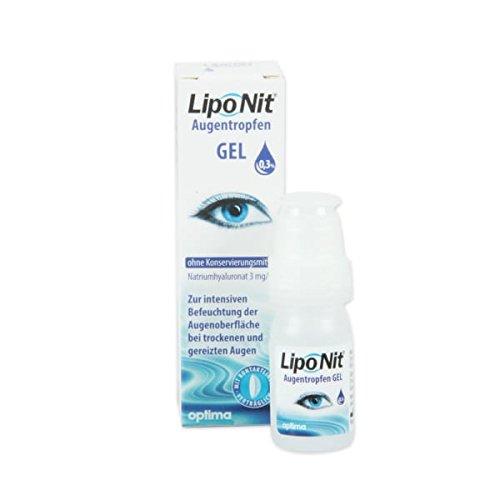 Liponit Augentropfen Gel 0.3 Prozent, 1er Pack (1 x 10 ml)