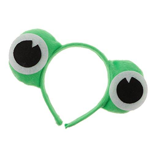 Homyl Frosch Haarreif für Erwachsene - Frosch, 11 cm (Frosch Augen Kostüm)