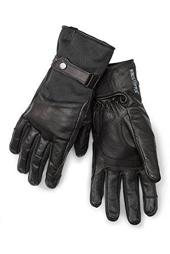 Handschuhe Downtown Motorrad BMW Motorrad Leder Farbe schwarz 10-10,5