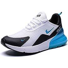 GJRRX Zapatillas Deporte Hombre Zapatos para Correr Athletic Cordones Air Cushion 3cm Running Sports Sneakers